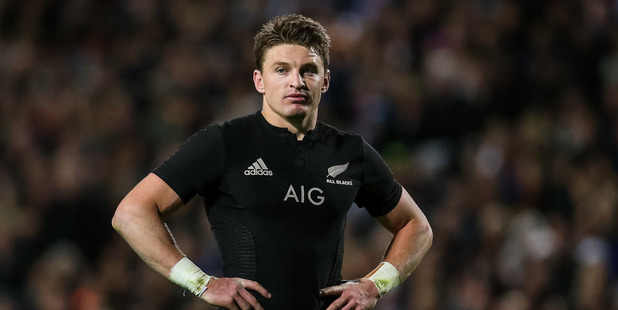 Loading Beauden Barrett missed a few shots at goal on Saturday. Photo / Photosport