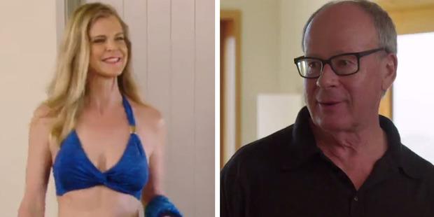 "Michael responds to Julia's bikini bod: ""Bloody Nora!""."