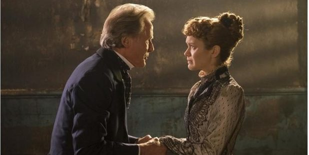 A still from The Limehouse Golem, which has premiered at the Toronto International Film Festival. Photo / The Telegraph UK