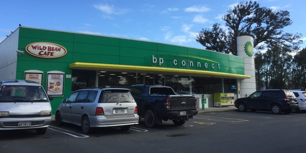 Ngaruawahia's BP was the target of an armed robbery overnight. Cash and cigarettes were taken. Photo / Belinda Feek