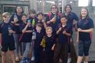CHEERS: Upokongaro pupils enjoy their official drink of choice at school last week.