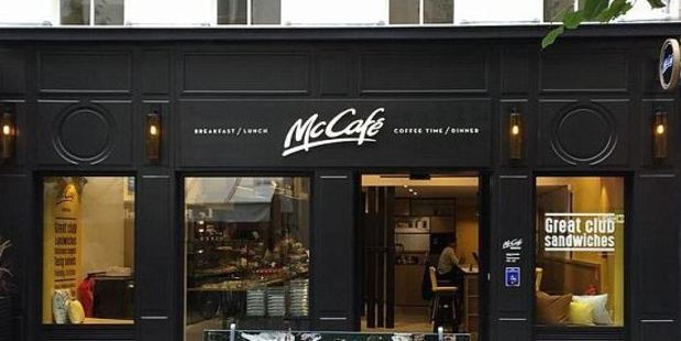 The new McCafe, pictured, looks unlike any McDonald's in the UK. Photo: McDonald's