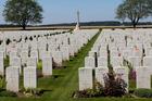 Caterpillar Valley, Longueval, France. Photo: NZ War graves