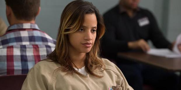 Dascha Polanco as Dayanara Diaz in Orange in the New Black.