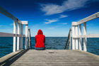 It's time New Zealanders talked more openly about suicides, which last year claimed a record 569 lives . Photo / 123RF