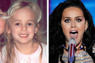 Katy Perry is believed to be the child star JonBenet Ramsey who is now deceased. Photos / Supplied, AP