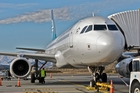 An Air New Zealand A320 at Queenstown Airport. Photo / Aero Icarus