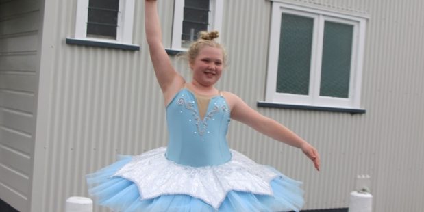 Savannah Clement is ready to dance in Toko this weekend.