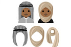 A potential design for Rayouf Alhumedhi's proposed emoji.