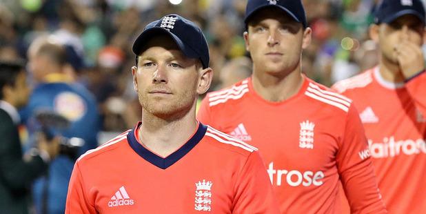 England one-day captain Eoin Morgan. Photo / AP
