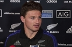 All Blacks 1st-five Beauden Barrett discusses South Africa. Also Ardie Savea and his brother Jordie Barrett.