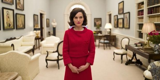 Natalie Portman plays Jackie Kennedy in the biopic 'Jackie'
