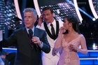 The moment two protesters invaded  the stage of  Dancing With The Stars