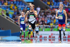 Liam Malone won the Men's 400m T44 at the Paralympics.