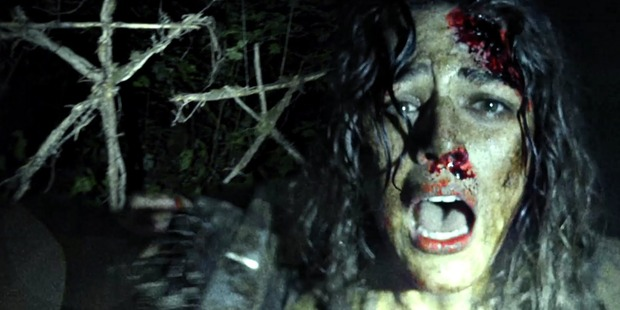 A scene from the Blair Witch sequel, which comes 16 years after the ground-breaking original horror film.