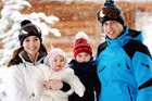 Kensington Palace revealed that the young prince and princess will join their parents in Canada. Photo / AP
