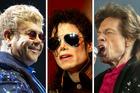 Elton John, Michael Jackson and Mick Jagger were all back up vocalists for artists. Photos / Bradley Garner, AP, NZPA