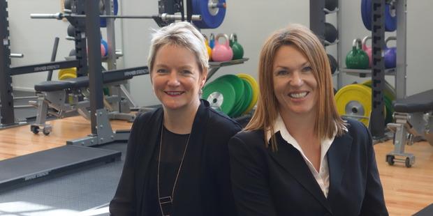 Stephanie O'Sullivan, left, and Justine Brennan. PHOTO/FILE