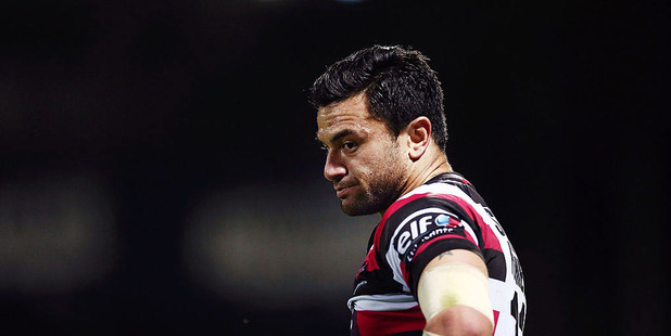 Sherwin Stowers of Counties Manukau looks on during the round five Mitre 10 Cup match between Counties Manukau and Taranaki. Photo /Getty