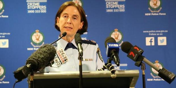 NSW Police Deputy Commissioner Cath Burn said police believe the attack was inspired by ISIS. Photo / Stephen CooperSource, News Corp Australia