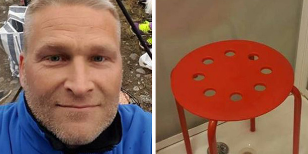 Mr Jørstad originally posted about his issues with the chair to Ikea's Norway Facebook page. He received a response from the retailer as the post went viral. Photos / Facebook