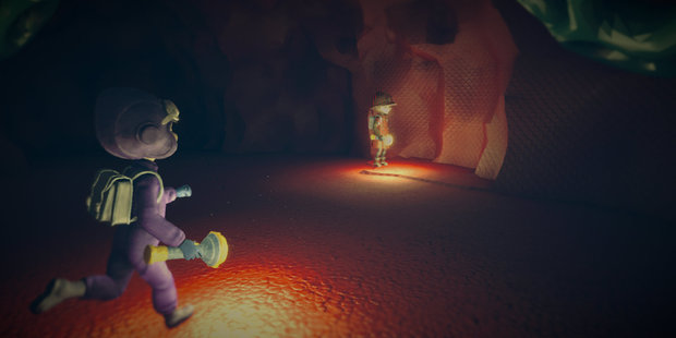 A scene from Playstation 4 game The Tomorrow Children.