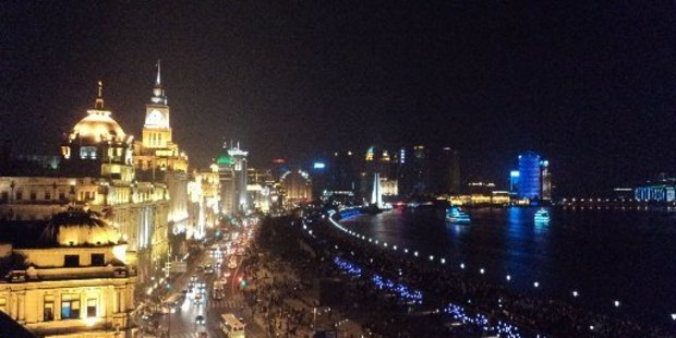 Walking along The Bund in Shanghai has never been cheaper with record low fares of $699 return. Photo / Brian Fallow