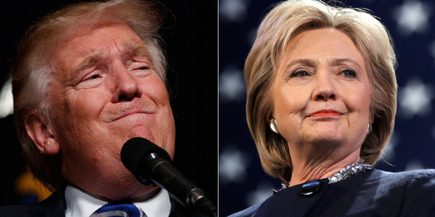 Loading Hillary Clinton and Donald Trump's race for the White House is now tied. Photos / AP