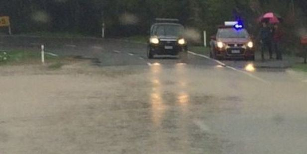 Rain is falling over much of the North Island today; with Auckland, the Kapiti Coast and the Wairarapa the hardest hit. Photo: Kāpiti Coast District Council / Facebook