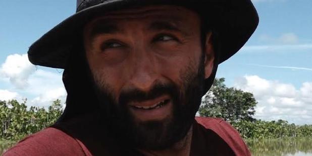 Taking on the jungle: Jason Motlagh. Photo / SBS Dateline / Carlos Villalon