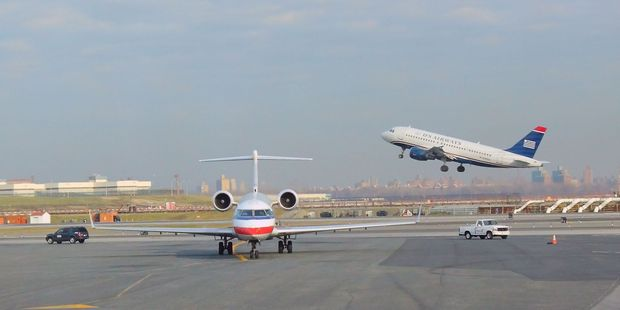 File photo of LaGuardia airport. Photo / 123rf