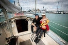 Young family buy a boat after being locked out of the Auckland property market.