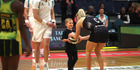 View: Photos: Silver Ferns in Rotorua
