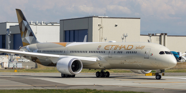 Etihad is on track to have the largest Dreamliner fleet in the world, with 41 787-9s on firm order. Photo / Creative Commons image by Flickr user Woodys Aeroimages