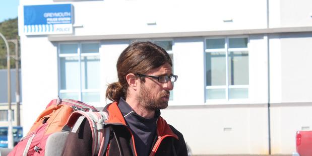 Loading Cedric Claude Rene Rault-Verpre has admitting stealing a $1000 sleeping bag. Photo / Greymouth Star