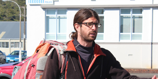 Loading A French hitchhiker who spent four days trying to get a lift out of the West Coast without success has plead guilty to damaging road signs. Photo / Greymouth Star