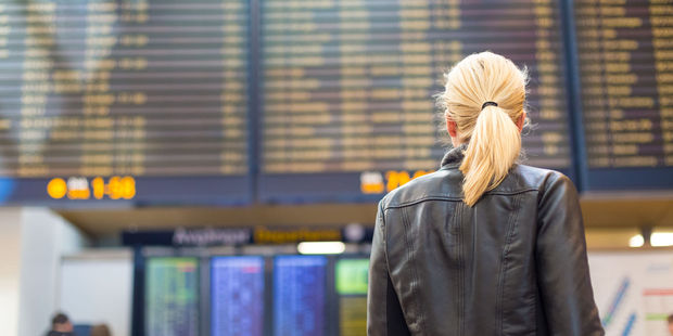 It's an exciting world to discover out there, but you must survive the airport first. Photo / 123RF