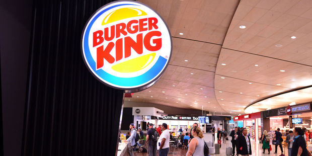 Fast food, the ultimate airport saviour. Photo / 123RF