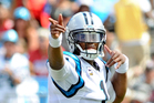 Quarterback Cam Newton will be looking to lead his Carolina Panthers to a victory over the Minnesota Vikings. Photo / AP