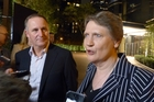 John Key and Helen Clark both say she is a strong and independent candidate for the UN's top job. Photo / Audrey Young