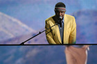 Frank Ocean has left his record label angry after releasing dual albums. Photo/AP
