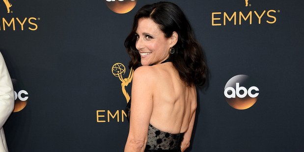 Julia Louis-Dreyfus at the 68th Primetime Emmy Awards. Photo / AP