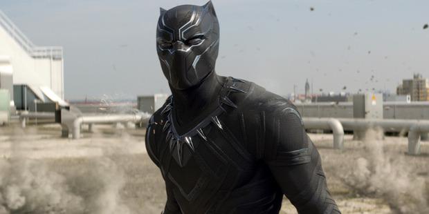 Black Panther (Chadwick Boseman) in Captain America: Civil War.
