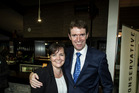 Leader Colin Craig with his wife Helen Craig. Photo / Michael Craig