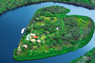 Sir Richard Branson's Makepeace Island is a secluded hideaway a few minutes upstream from Queensland's cosmopolitan Noosa Heads on Australia's Sunshine Coast.