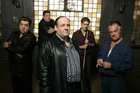 A scene from the tv series The Sopranos