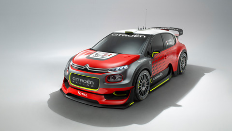 Citroen unveils new C3 WRC