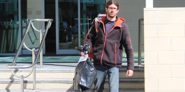 Cedric Claude Rene Rault-Verpre, 27, appeared in Greymouth District Court this morning. Photo / Greymouth Star
