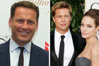 Karl Stefanovic says the break-up of Brad Pitt and Angelina Jolie should be 'no one's business'. Photo / Getty, AP