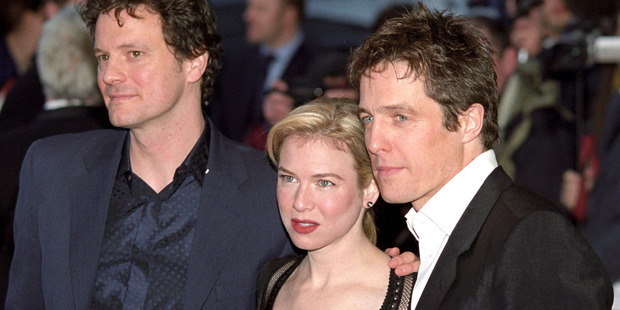 Colin Firth, Rene Zellweger and Hugh Grant during Bridget Jones's Diary UK Premiere at Empire London in London, Great Britain. Photo / Getty